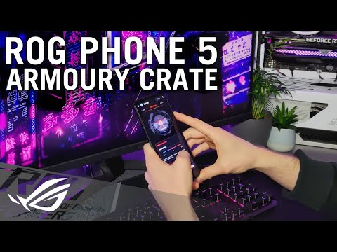 ROG Phone 5 - Introduction to Armoury Crate   ROG