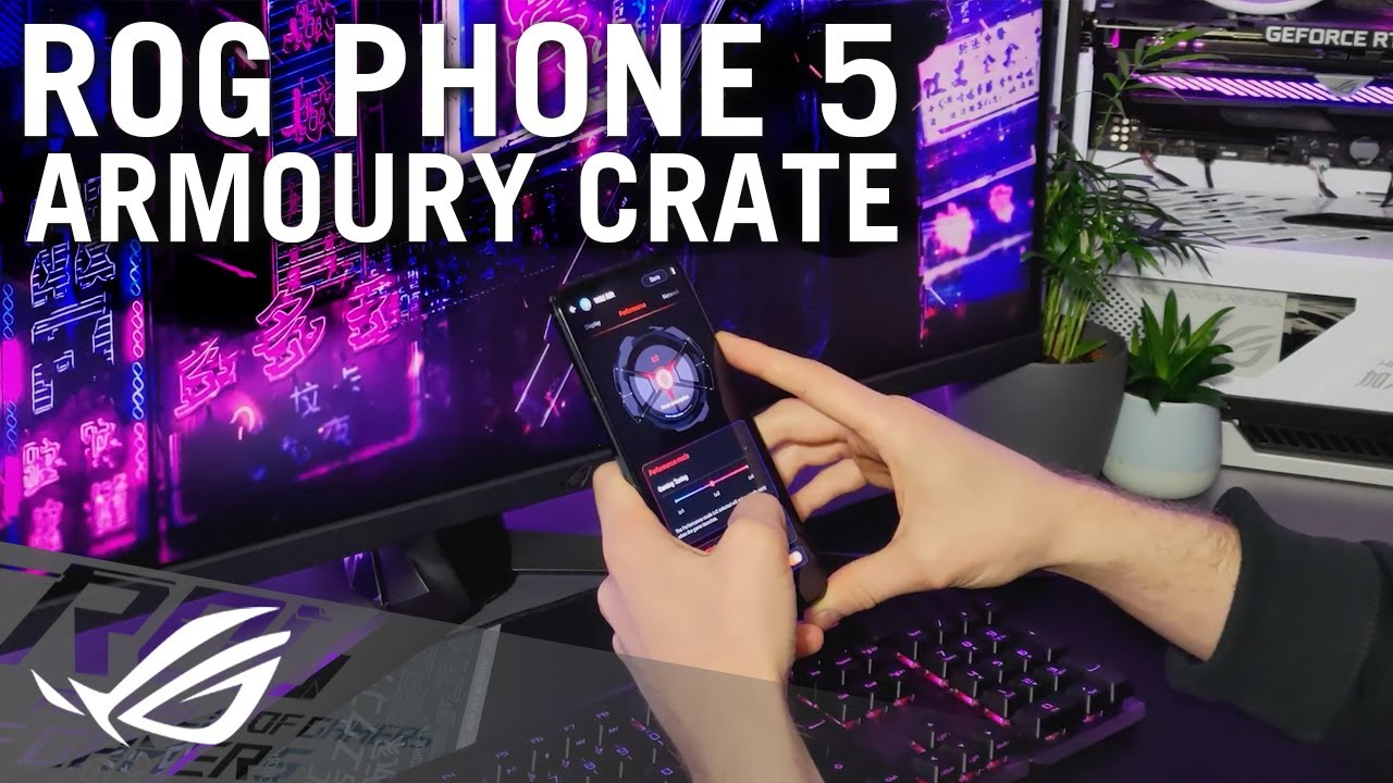 ROG Phone 5 - Introduction to Armoury Crate | ROG