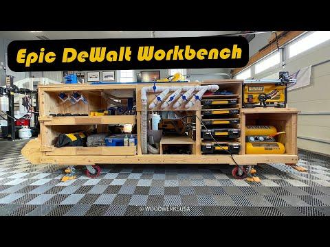 DIY Mobile Project Center - DeWalt Workbench Walkthrough