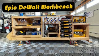 DIY Mobile Project Center - DeWalt Workbench Walkthrough