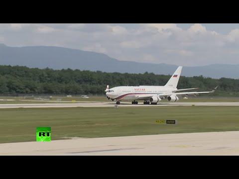 Putin lands in Geneva for Russia-US Summit