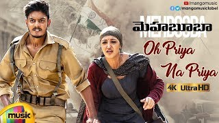 Mehbooba Telugu Movie Songs | Oh Priya Na Priya Full Video Song 4K | Puri Jagannadh | Akash Puri