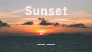 Sunset - William Thomson