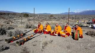 Taos Gorge Bridge Suicide Prevention Ceremony - Mystical Arts of Tibet Drepung Loseling Monastery