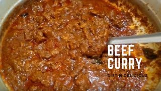 Kerala Style Simple Beef Curry | Nadan Beef Curry