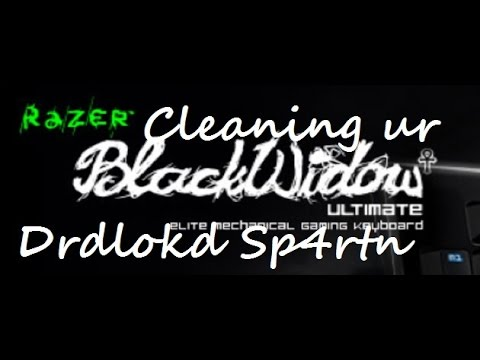 How to Clean a Razer Mechanical Keyboard