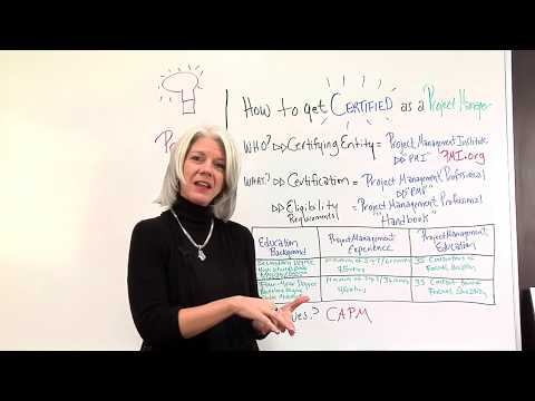 Getting Your Project Management Certification