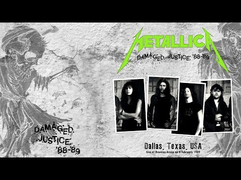 Metallica - Live at Reunion Arena, Dallas, TX, USA (1989) [SBD Master Tape]
