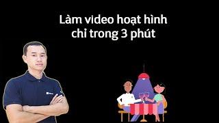 Làm video hoạt hình chỉ trong 3 phút vô cùng dễ screenshot 1