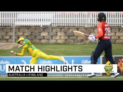 Aussie Scramble To Tie, Before Falling In Super Over | CommBank T20 INTL Tri-Series
