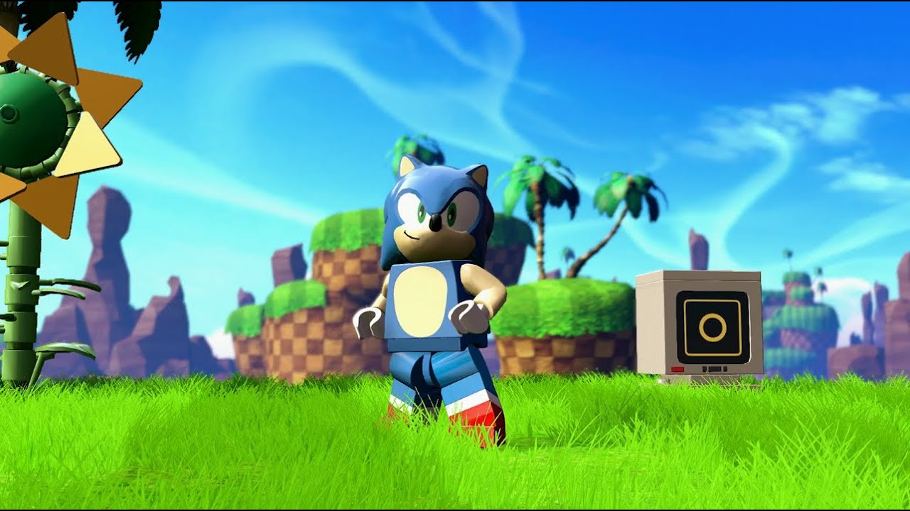 lego dimensions sonic debut trailer youtube