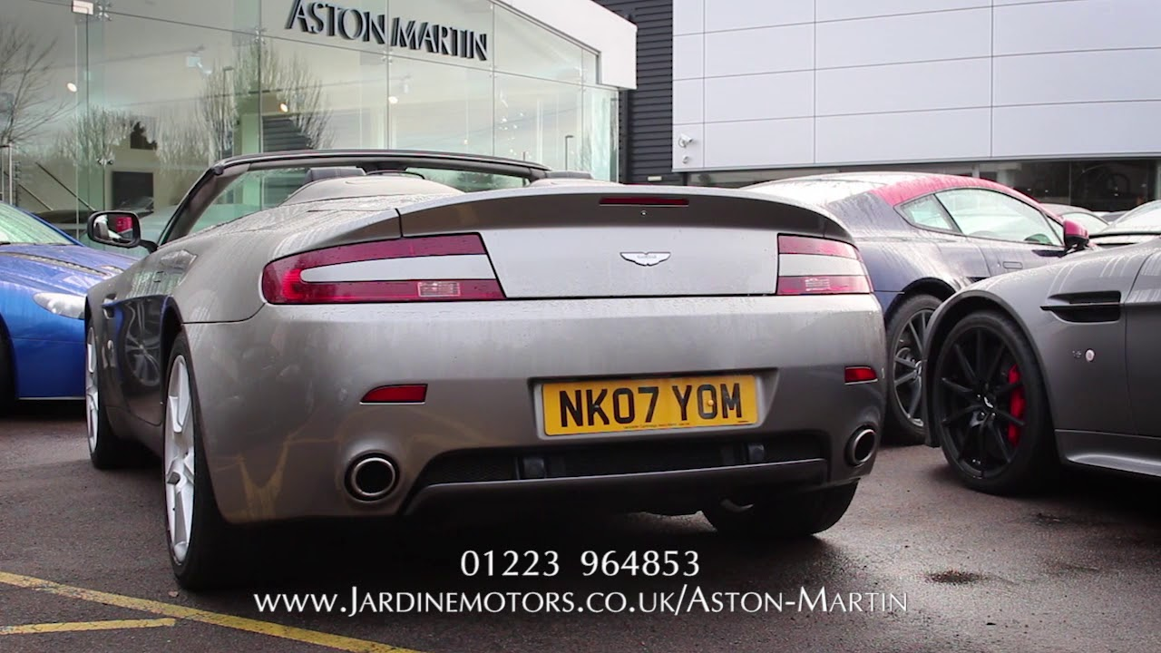 Jardine motors group aston martin v8 vantage roadster for Jardine motors