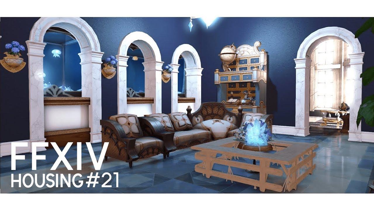 FFXIV HOUSING - Restful blue - YouTube