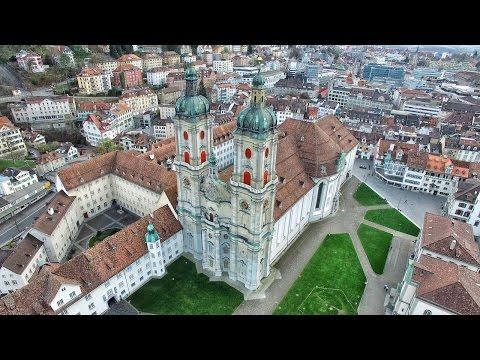 St. Gallen in 4K | Beautiful Switzerland