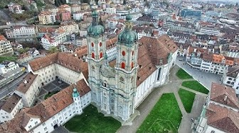 St. Gallen in 4K   Beautiful Switzerland