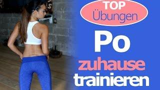 Po Übungen für Zuhause & Gym - Knackiger Po - Training für den Booty - Bestes Workout