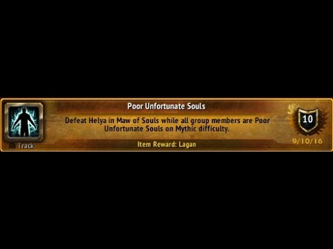 poor unfortunate souls glory of the legion hero m maw of souls
