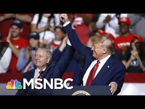 Lindsey Graham: Trump's 'Allowed Me To Be In His World' | The 11th Hour | MSNBC