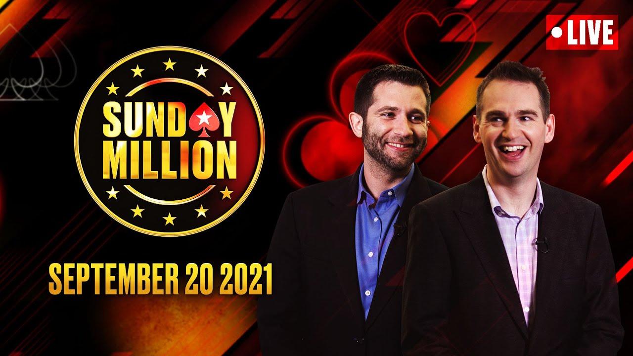 Download $109 SUNDAY MILLION!! $1M GTD - KO SUNDAY! ♠️ Hosted by Hartigan, Stapes & Ho! ♠️ PokerStars