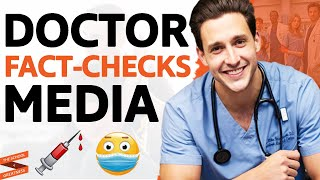 DOCTOR FACT-CHECKS Media On Coronavirus, Healthcare & Shares How To STAY HEALTHY|Doctor Mike & Lewis