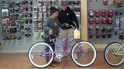 Beachbikes.com - Finding the right size beach cruiser bike for a women