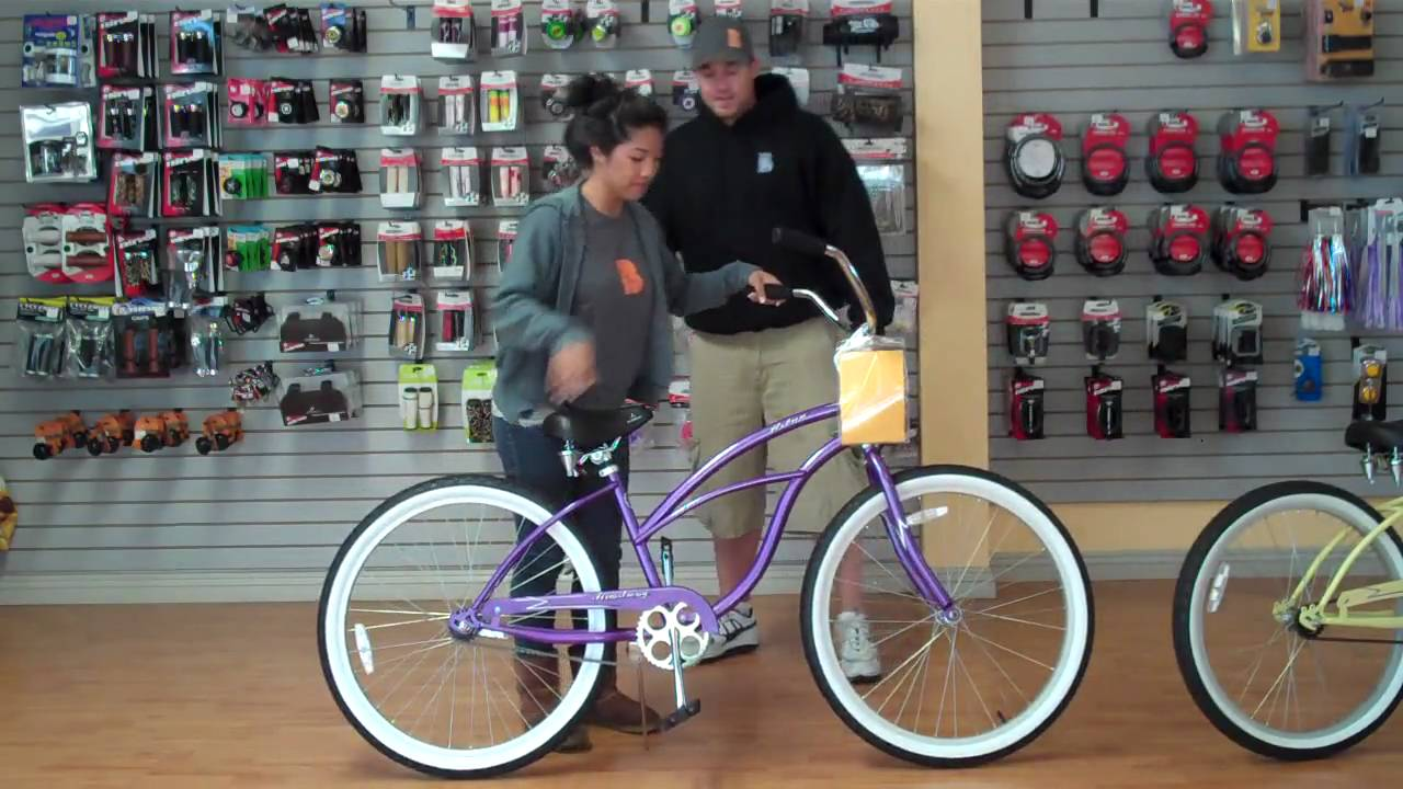 Beachbikes.com - Finding the right size beach cruiser bike for a ...