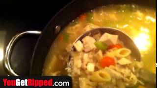 Chicken Soup That Will Help You Lose Weight   Simple Recipe