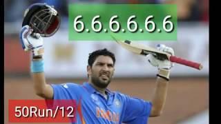 indian cricket yovraj 6 sixes in 6 balls ipl best indian cricketer 2018