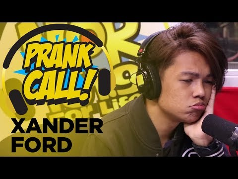 Prank Call: Xander Ford Pinangaralan On-Air
