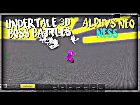 Roblox Undertale 3d Boss Battles Uncopylocked Free Roblox Robux Roblox Undertale 3d Boss Battles Alphys Neo Ness D7 Solo Youtube