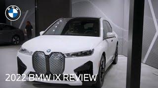 homepage tile video photo for The All-Electric SAV: 2022 BMW iX Walk Around & Review   BMW USA