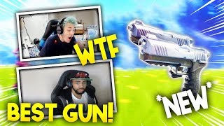 NINJA + DAEQUAN TRIES THE NEW DUAL-WIELD PISTOLS - Fortnite Battle Royale WTF & Funny Moments