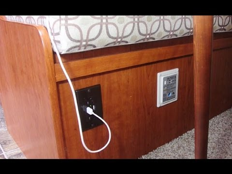 Wiring Diagram For Rv Inverter Adding A Combo Usb 120vac Outlet To The Dinette In My Rv