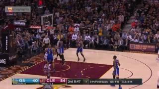 Warriors vs Cavs 1st Half Highlights - Game 4 - 2017 NBA Finals