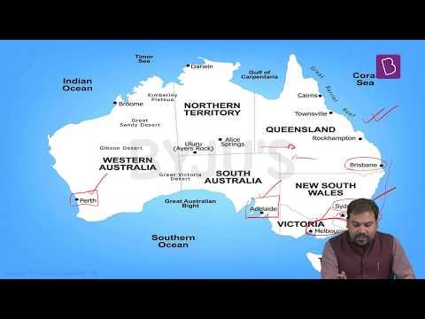 Geography Through Maps - Part 5/7 (Australia)