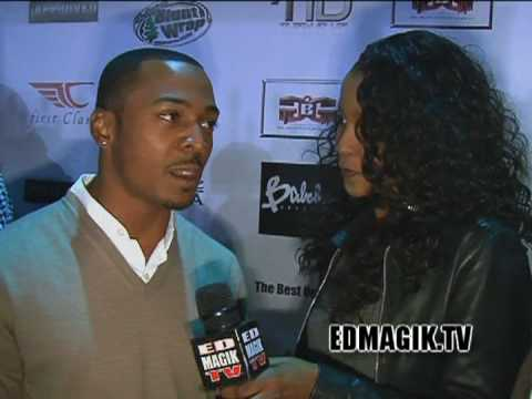 RonReaco Lee Celebrity Red Carpet Interview at Jim Jones 740 Club Event