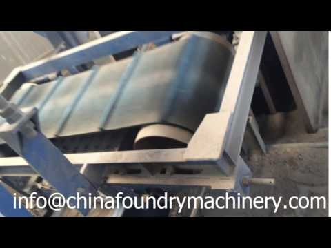 Ruvii Foundry Belt Conveyor&Magnetic Seperator Process