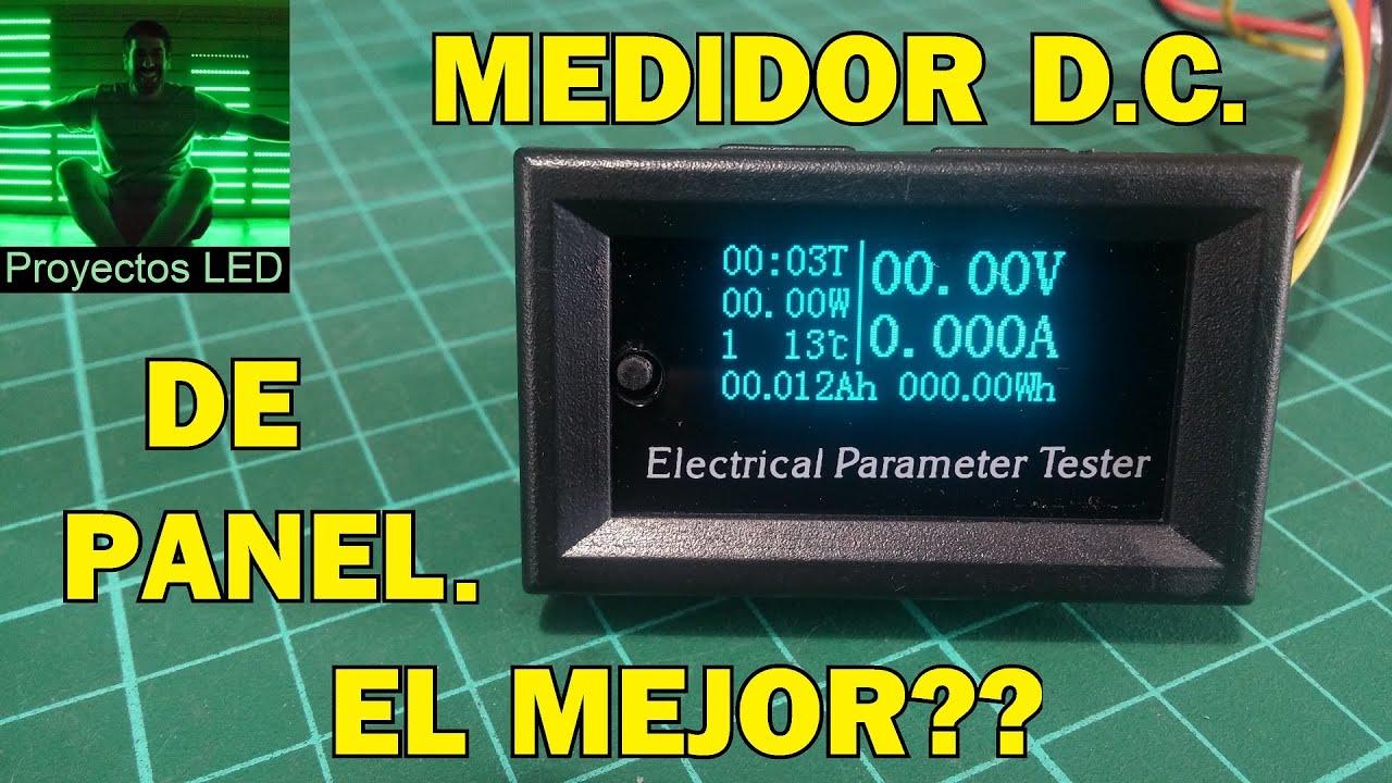 El mejor medidor dc de panel tension corriente potencia - Medidor de temperatura ...