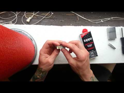 Zippo Lighter Maintenance