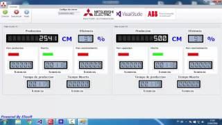 SCADA CON VB.NET+PLC MITSUBISHI