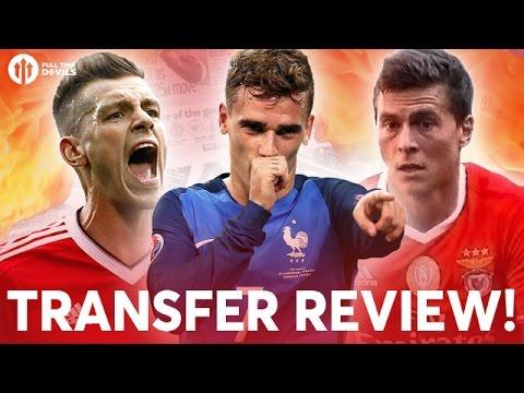 Griezmann, Schneiderlin, Lindelöf! | Manchester United Transfer News Review!