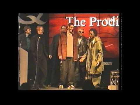 the Prodigy @ 97 Q awards tell Chris Evans to FU** OFF