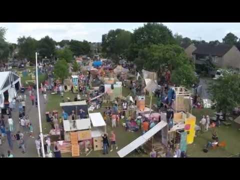 SJV Kindervakantieweek 2015 - Dronevlucht