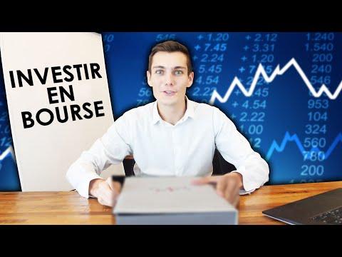 Comment investir en bourse ? (méthode simple)