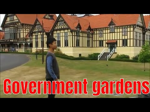 Government Gardens, Rotorua