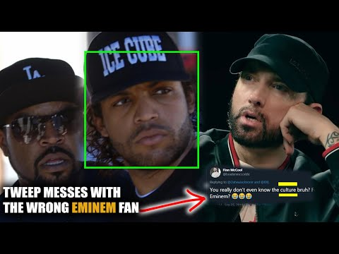 Ice Cube's Son O'Shea Jackson Jr Says Eminem Is His Favourite Battle Rapper & Twitter Comes For Him