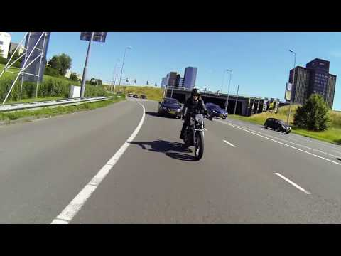 Sunday morning ride to Republic Moto, Rotterdam