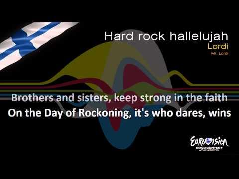 "Lordi - ""Hard Rock Hallelujah"" (Finland)"
