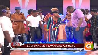 This is how Willis Raburu's Short n Sweet dance lesson went down #10Over10