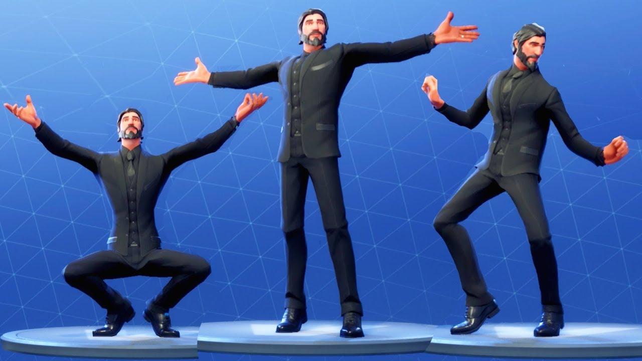 Fortnite the reaper performs all dances all season 1 4 dance emotes youtube - Fortnite reaper ...
